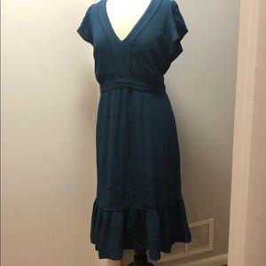 Point Sur for J.Crew midi dress